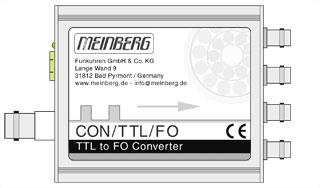 Fiber Optic converter CON/TTL/FO