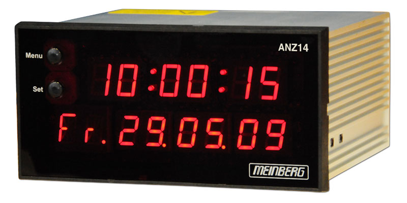 Dcf77 Ntp Radio Clock Display Anz14