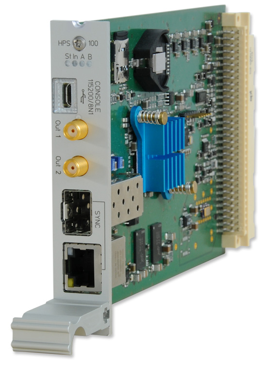 IMS HPS100: PTP / SyncE / Hardware NTP Interface