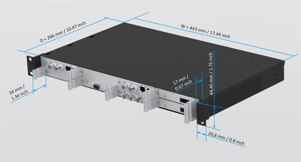 Modular Synchronization Platform LANTIME M1000S