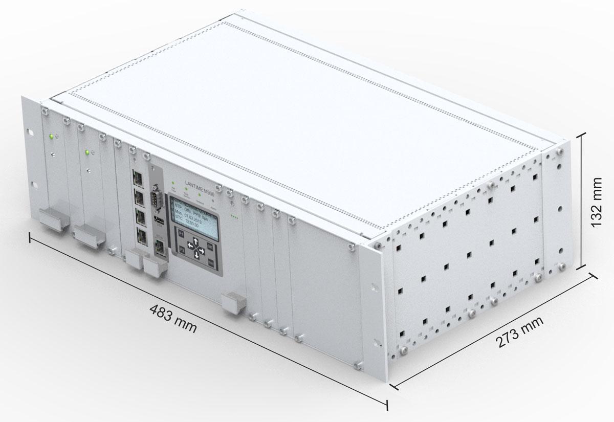 Modular NTP Time Server LANTIME M900