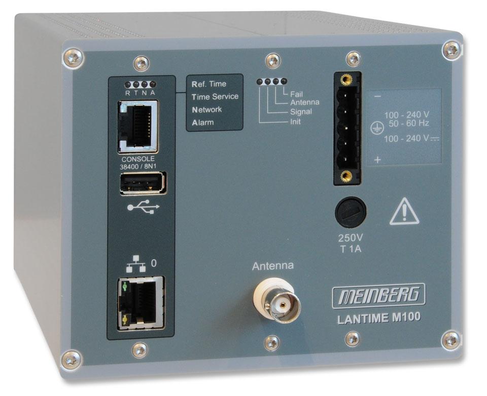 Railmount Ntp Time Server Lantime M100